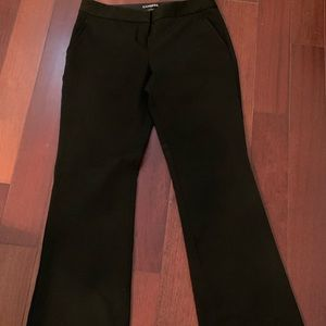 Black Express Columnist Dress Pants Size 2 short